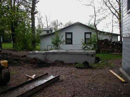 The Schryver Cottage Construction 2006